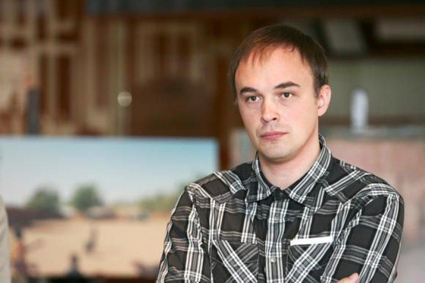Naujasis Lietuvos fotomenininkų sąjungos Kauno skyriaus pirmininkas G.Česonis nusiteikęs ryžtingoms permainoms.