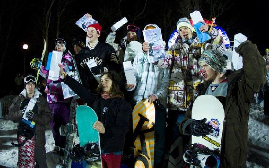 """Red Bull Whiteout"" – kaimynų sniego mūšis Taline"