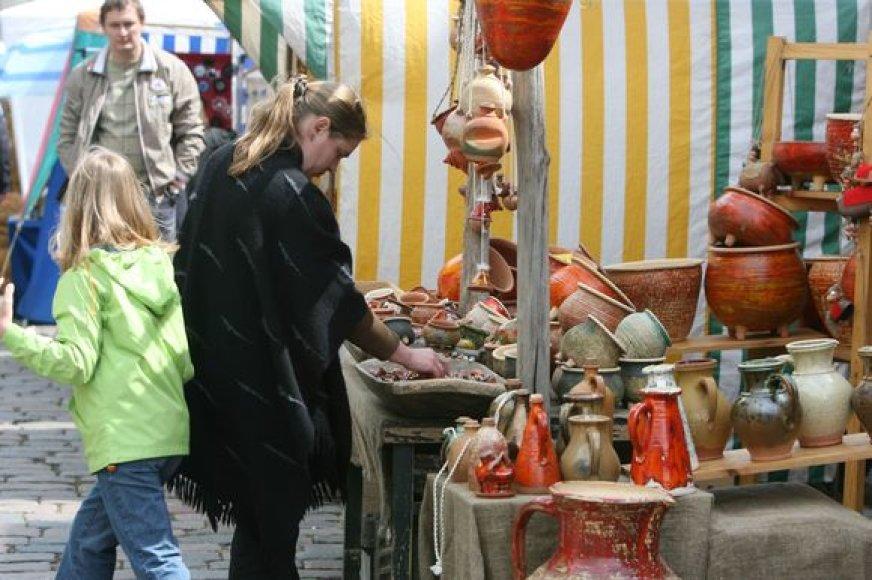 Garliavos jubiliejinėje šventėje šurmuliuos amatininkų ir prekeivių mugė.