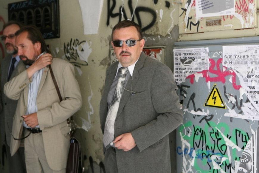 Trečiadienio popietę Vilniaus meras su palyda domėjosi senamiesčio bėdomis.