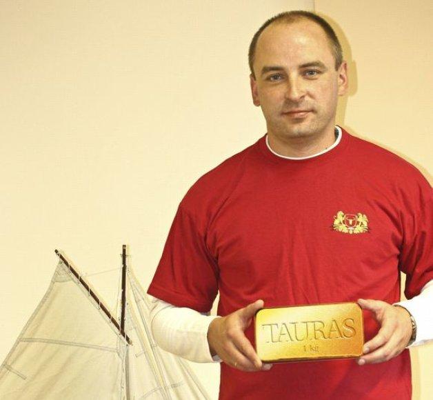 Aukso luito laimėtojas – Nerijus Paulauskas