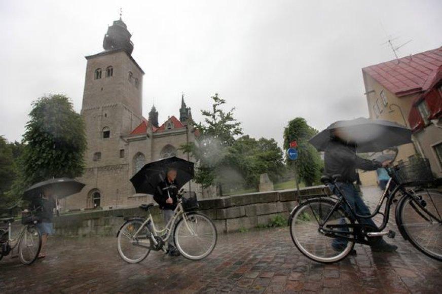 Ramūs Gotlando salos gyventojai nieko nenori girdėti apie Baltijos jūros dugnu numatomą tiesti dujotiekį.