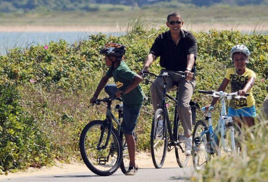 B.Obama išėjo vasaros atostogų spėjęs nustatyti ganėtinai aiškias JAV užsienio politikos gaires.