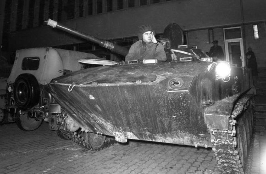 Okupantų tankas
