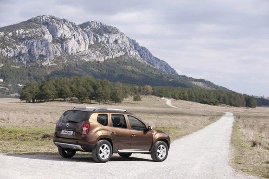 """""""Dacia Duster"""" visureigis"""