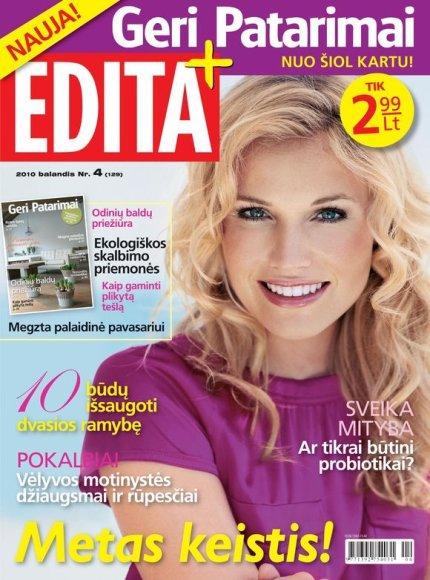 Naujojo žurnalo viršelis