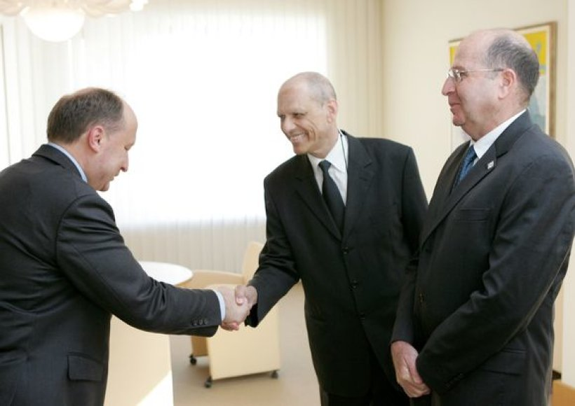 Premjeras A.Kubilius susitiko su Izraelio Valstybės vicepremjeru ir strateginių reikalų ministru Moshe Yaalonu.