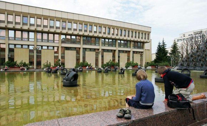 Fontanas prie Seimo