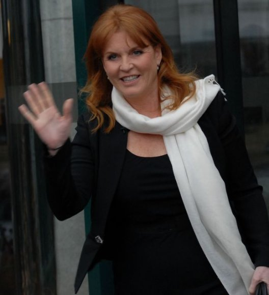 Didžiosios Britanijos Jorko hercogienė Sarah Ferguson