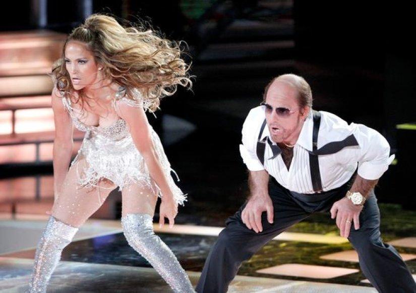 Energingas Jennifer Lopez šokis