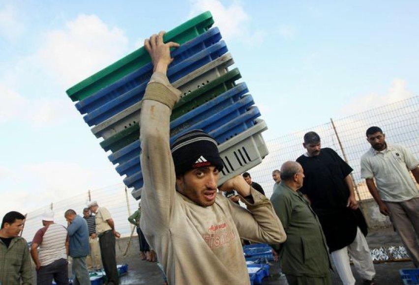 Izraelis pasiruošęs sušvelninti prekių įvežimo į Gazos Ruožą režimą.