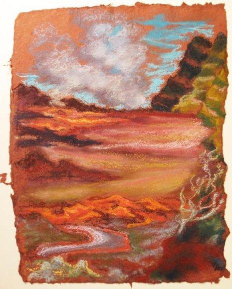 "Mariettos Bonnet paroda ""Ugnikalniai vandenyne"""