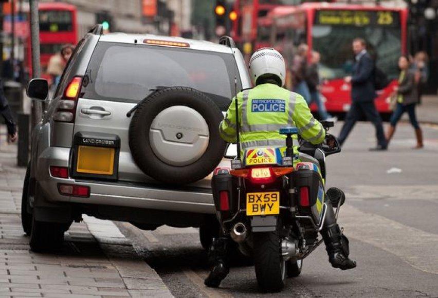Britanijos policija