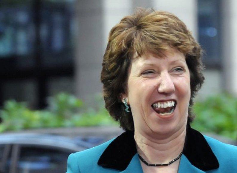 ES išorės politikos vadovė C.Ashton