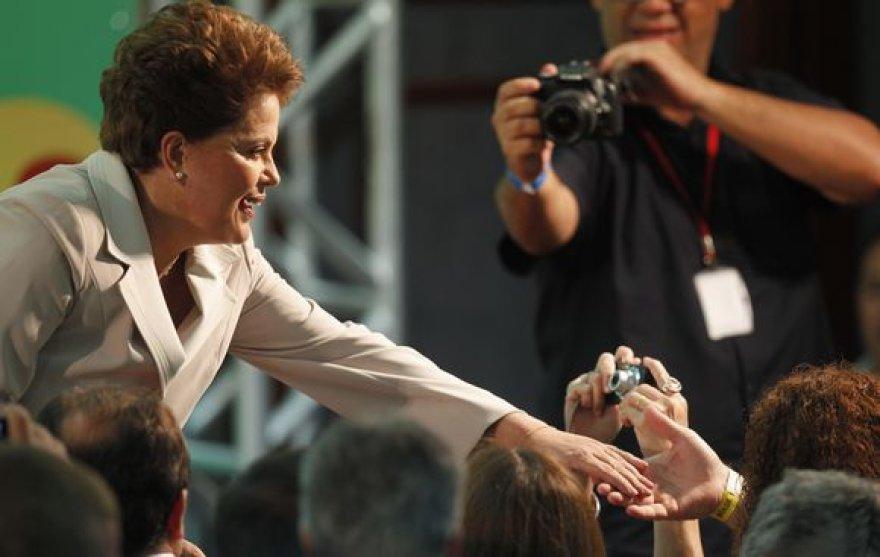 Brazilijos prezidentė Dilma Rousseff