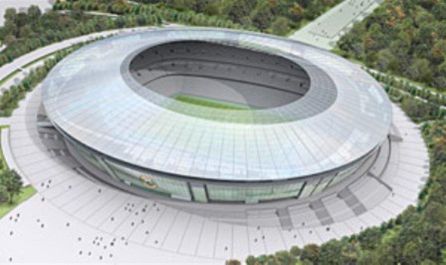 "Taip atrodys ""Donbass Arena"""