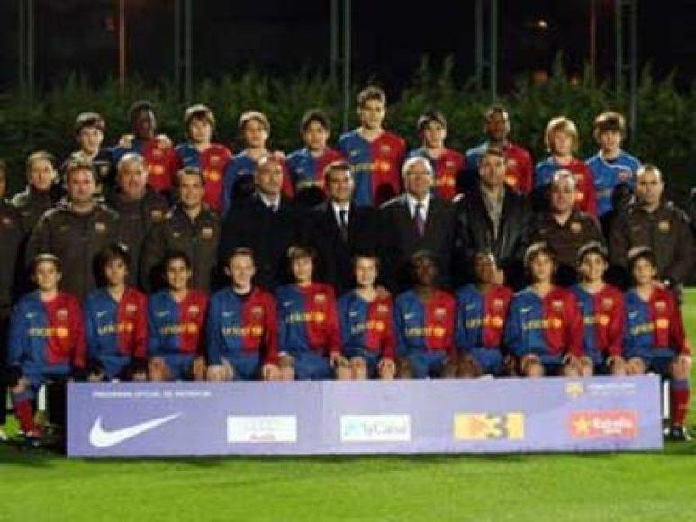 """""""Barcelona"""" jaunimo komanda"""
