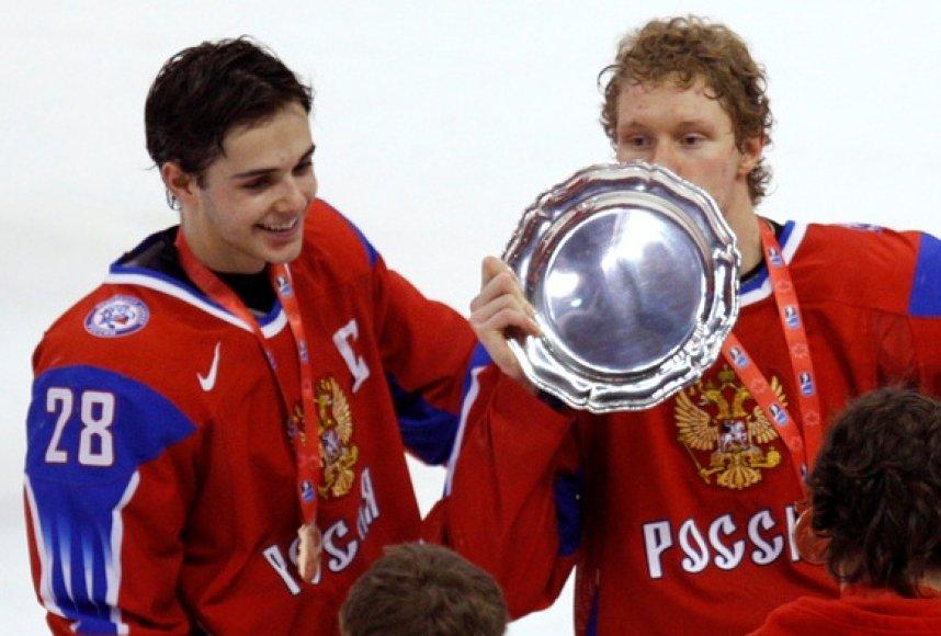 Rusijos ledo ritulininkai tapo pasaulio čempionais