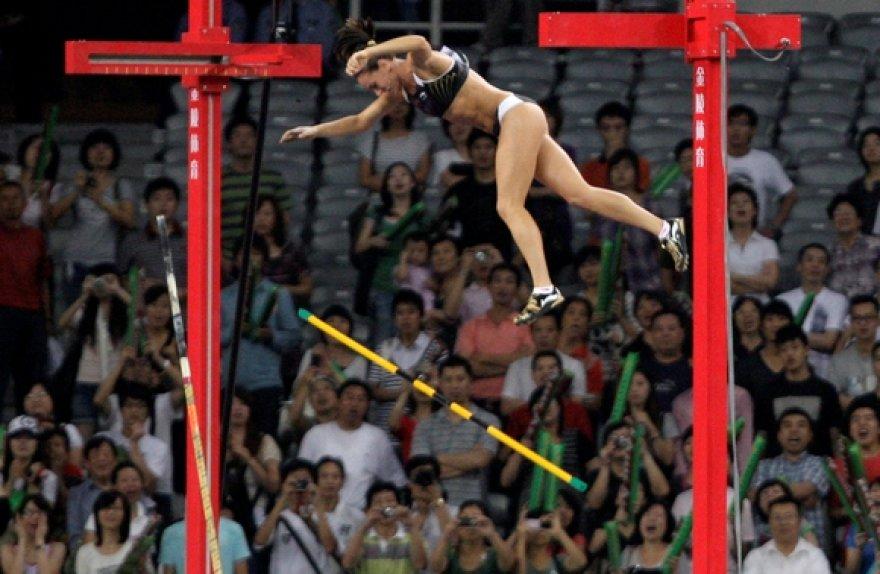 Jelenai Isinbajevai dar vcienas pasaulio rekordas nepakluso