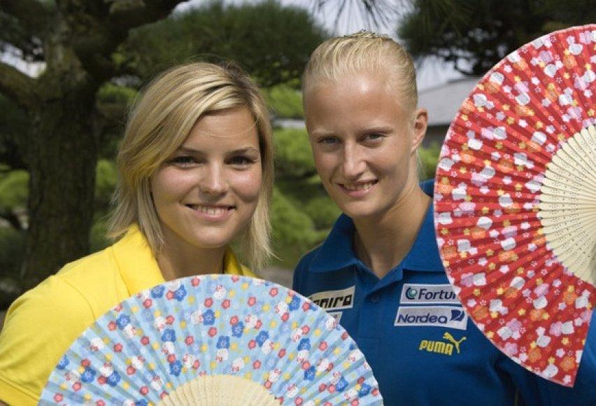 Susanna Kallur ir Carolina Kluft