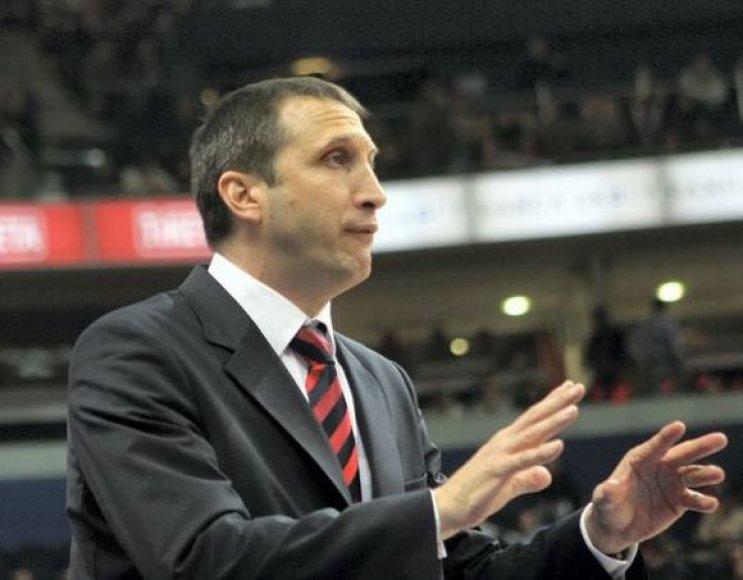 Dinamo treneris Davidas Blattas