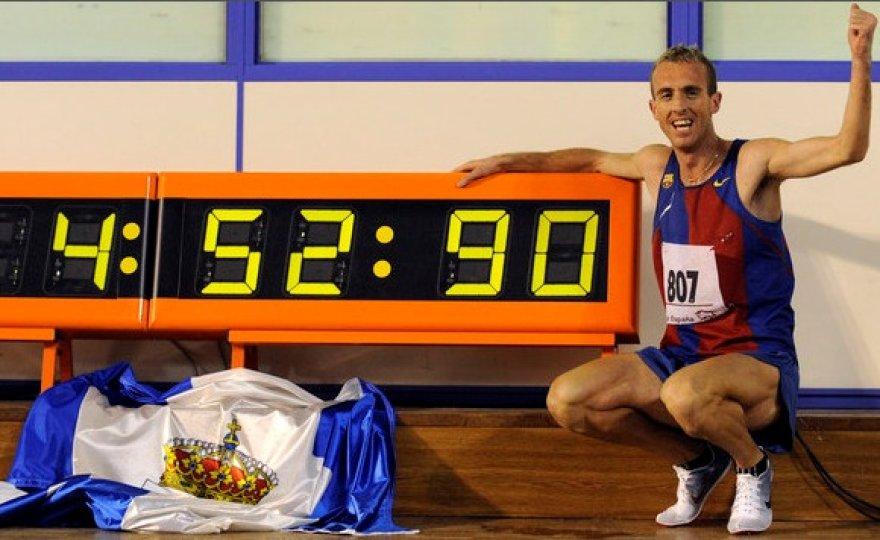 Naujasis Europos rekordininkas Sergio Sanchezas