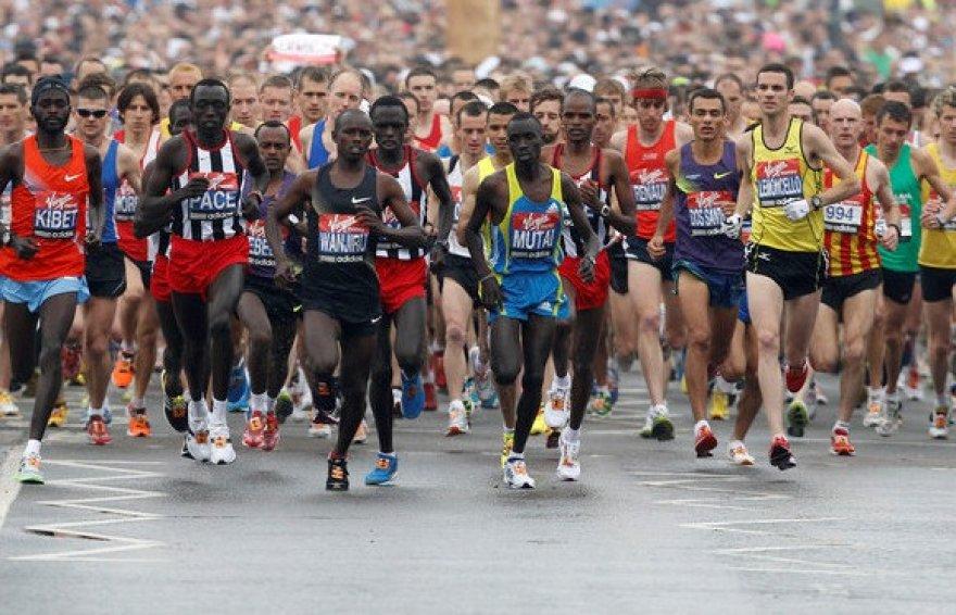 Londono maratono startas