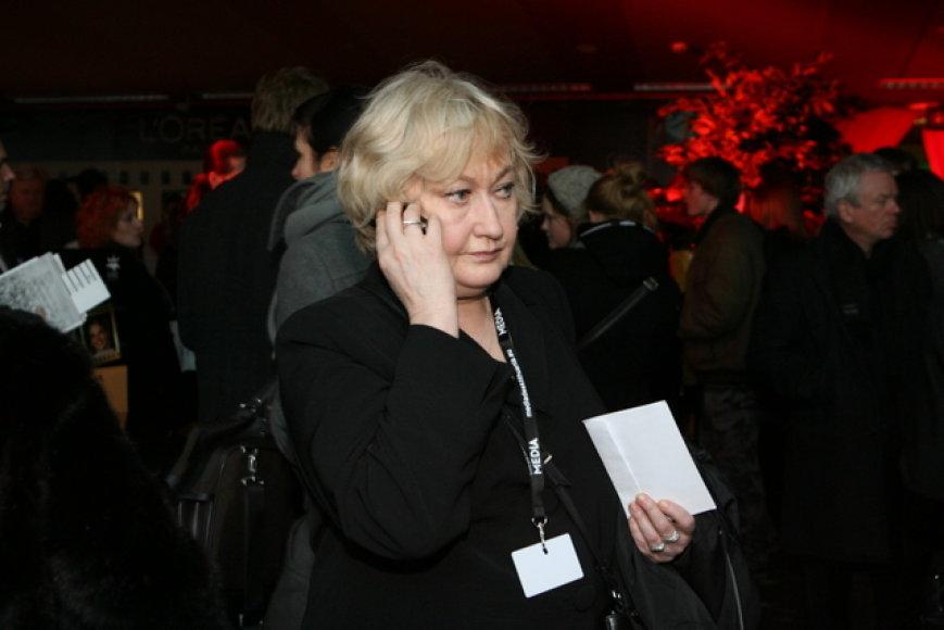 Kino kritikė Izolda Keidošiūtė
