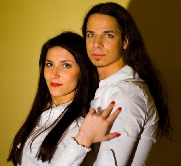 Ieva Prudnikovaitė ir Jeronimas Milius