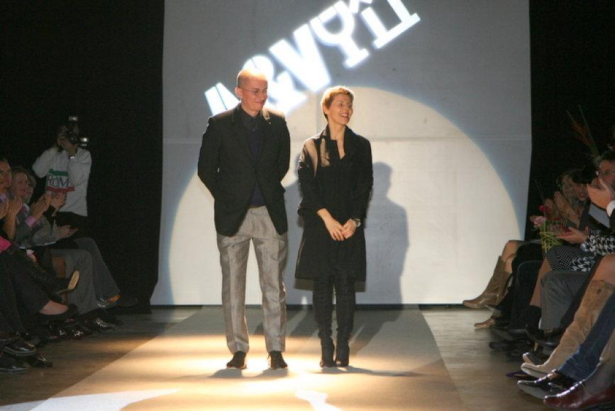 Aleksandras Pogrebnojus ir Vida Simanavičiūtė