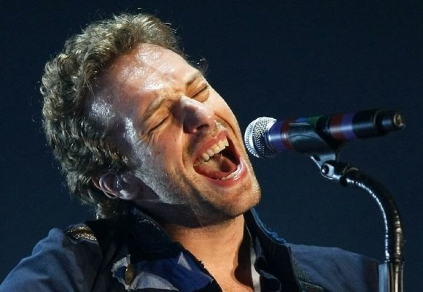 "Grupės ""Coldplay"" koncertas"