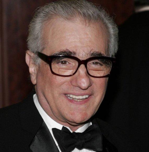 Režisierius Martinas Scorsese