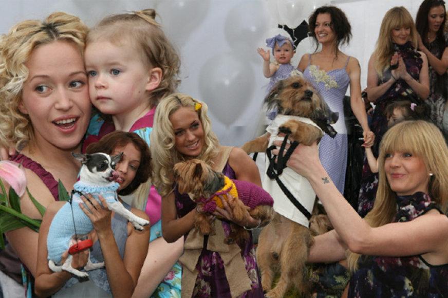Viktorijos Jakučinskaitės kolekcija garsioms moterims, jų dukrelėms ir šuniukams