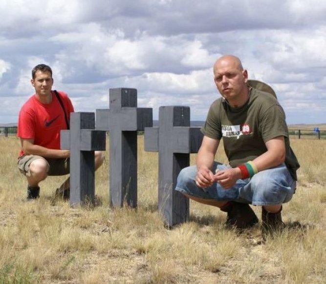"""""""Misija Sibiras'09"""" dalyviai Svaras ir Mantas"""