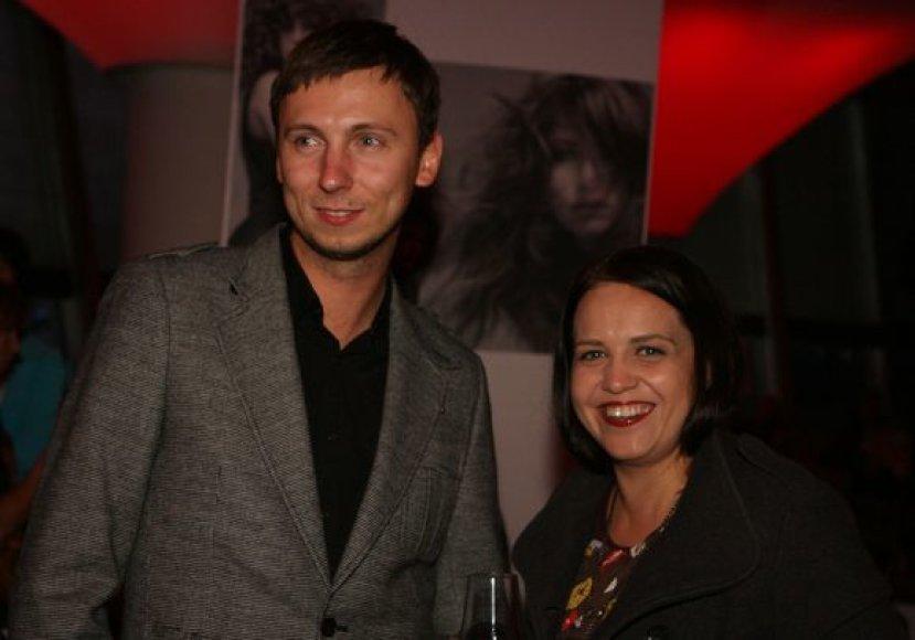 Egidijus Rainys ir Lilija Larionova