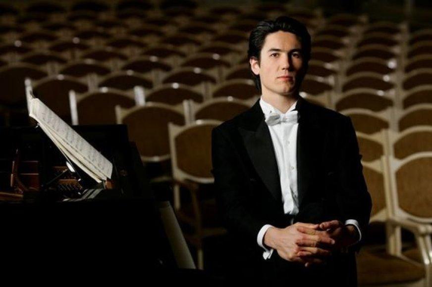 Pianistas Kasparas Uinskas