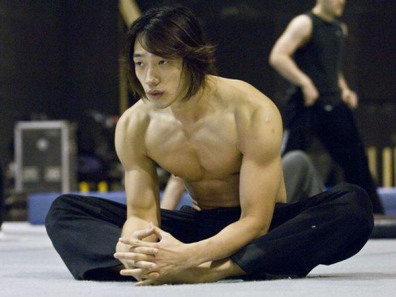 Pietų Korėjos popžvaigždė Rainas (Jeongas Ji-hoonas)