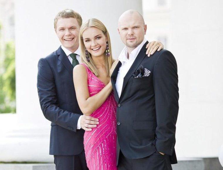 Mindaugas Stasiulis, Jurgita Jurkutė ir Kristupas Krivickas