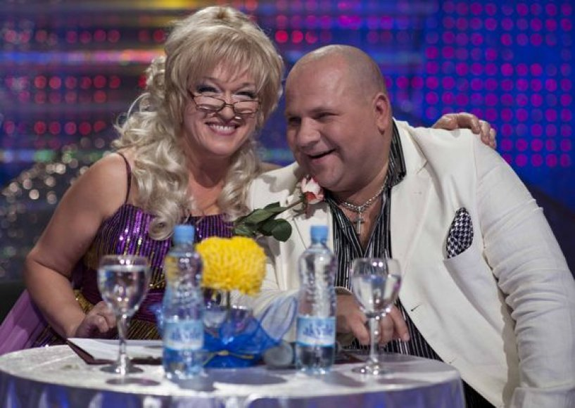 Aktoriai Kristina Kazlauskaitė ir Marijus Bagdonavičius