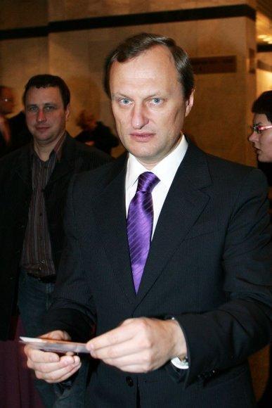 LNOBT direktorius Gintautas Kėvišas