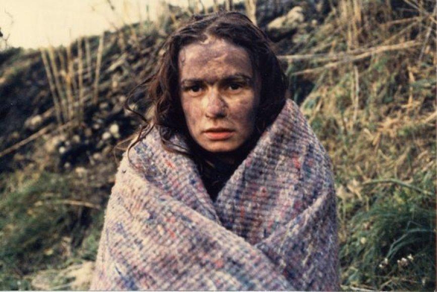 "Aktorė Sandrine Bonnaire filme ""Bastūnė"""