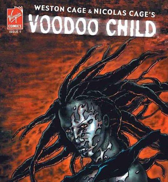 Nicolo Cage'o ir jo sūnaus kurta komiksų knygelė