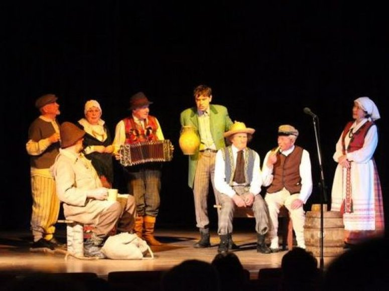 Senjorų teatro spektaklis