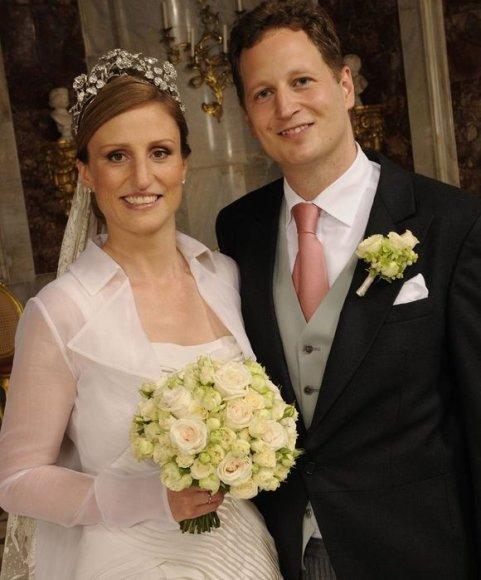 Isenburgų dinastijos princesė Sophie ir Prūsijos princas Georgas Friedrichas Ferdinandas