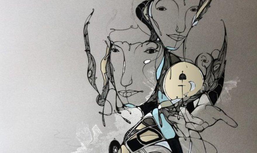 D.Thouw graffiti kūrinys