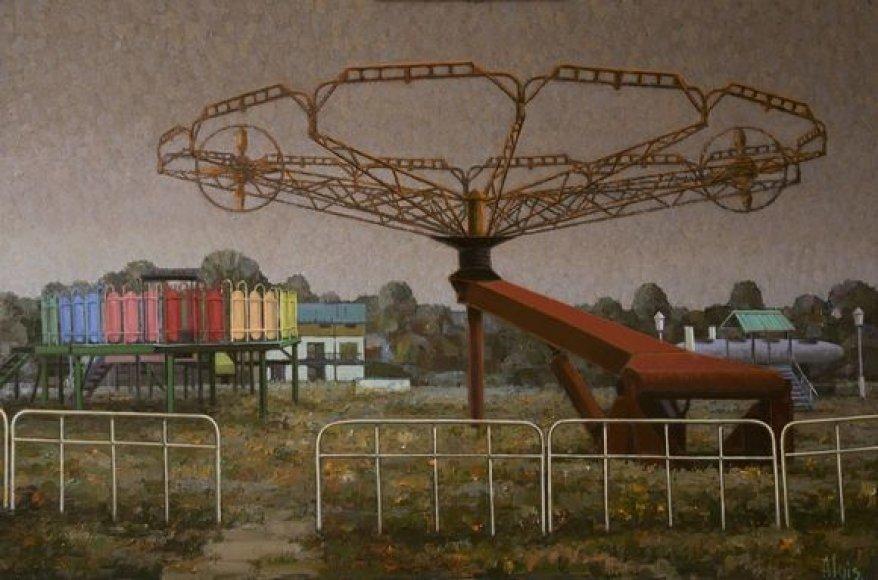 Algis Griškevičius. Pamirštų karuselių šalis. 2010