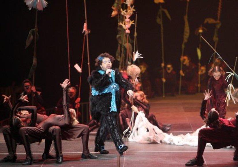 """Rafailas Karpis roko operoje """"Voro vestuvės"""""""