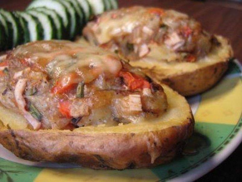 Įdarytos bulvės