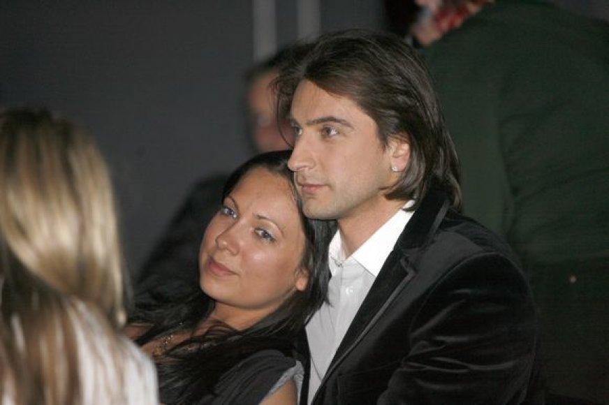 Alanas Chošnau ir Aida Žiliūtė