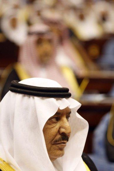 Vidaus reikalų ministras princas Nayefas bin Abdul Azizas.